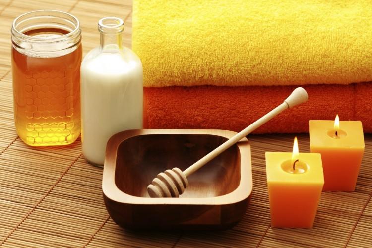 обертывание медом для похудения