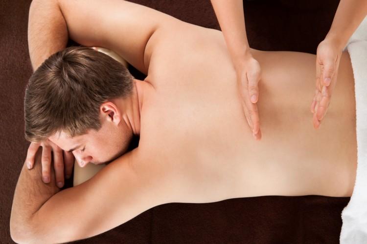 как делать расслабляющий массаж мужчине