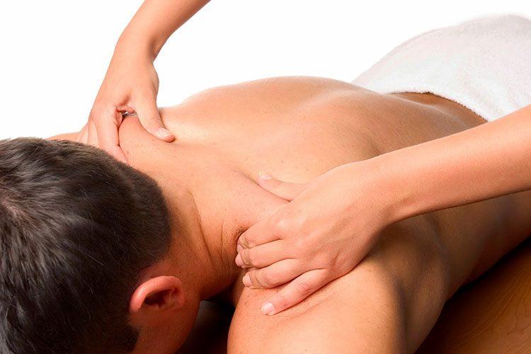 общий массаж тела мужчине